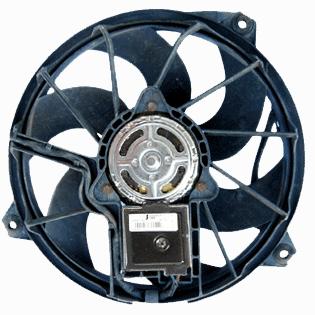 mercedes cooling fan control module location